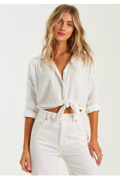 Sunset Sessions Blouse WHT