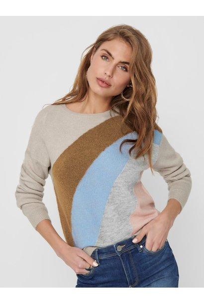 Maeve L/S ColourBlock Sweater