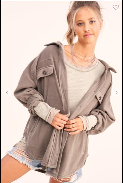 Sunset Fleece Jacket FOG