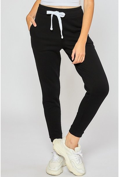 Weekend Warrior Jogger BLK