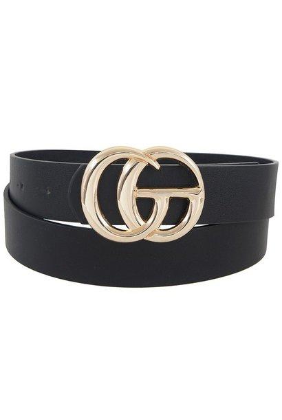 Jenny Joans GO Belts BLK/GOLD