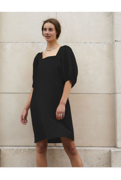 Tautou Dress BLK