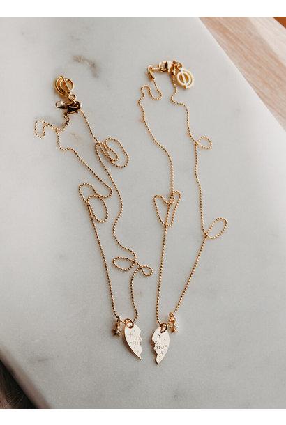Bestie Necklace GLD