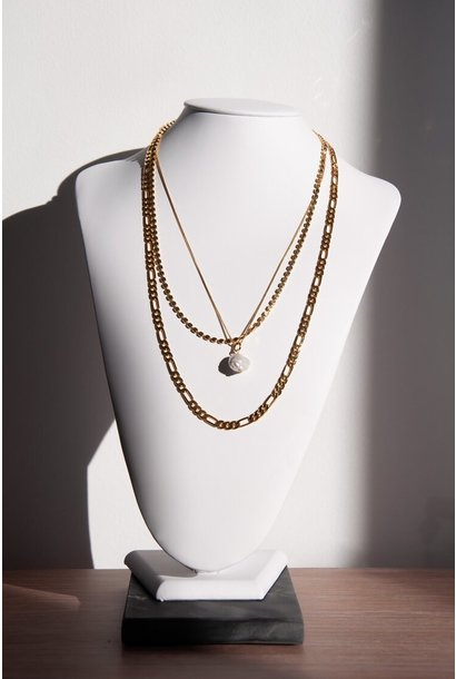 It's Complicated Necklace GLD