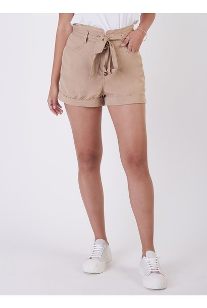 H/R Belted Button Front Short SND