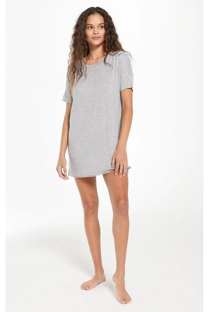 Girlfriend Rib Dress HGRY