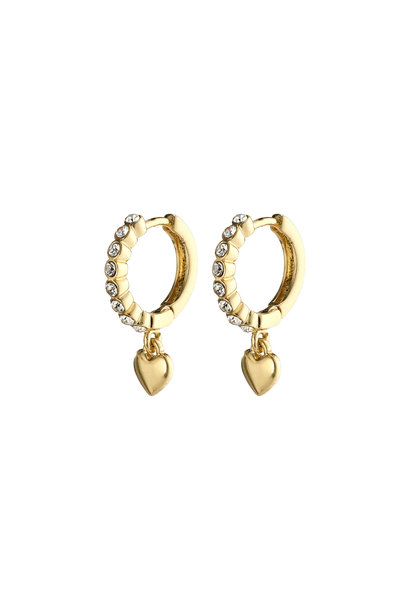 Sophia Crystal Earrings GLD