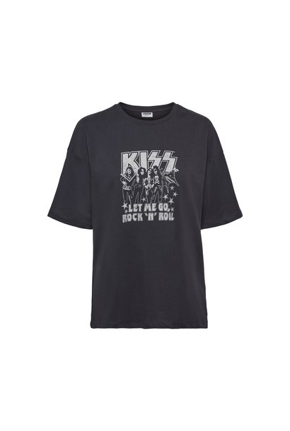 Andy KISS Graphic Tee WBLK