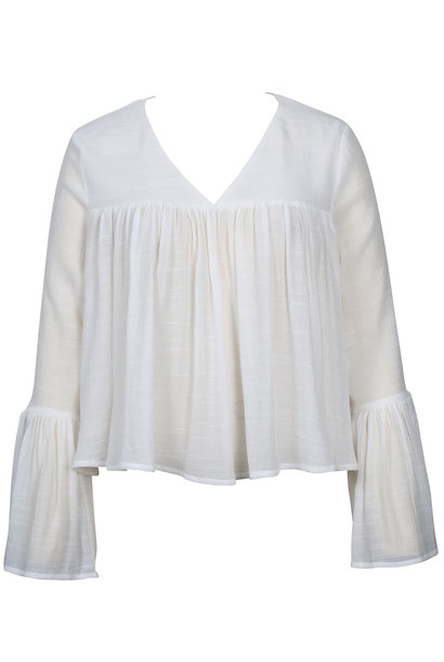 Ever Heart Blouse WHT