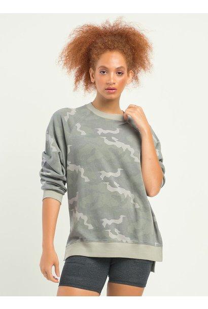 Oversized Pullover CAMO