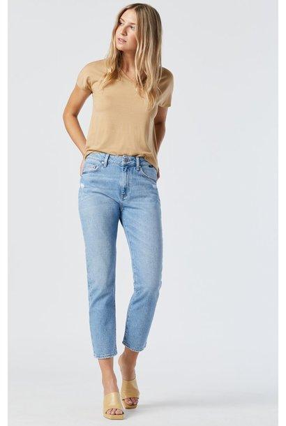 Viola H/R Slim Straight Leg LT DIS BLUE