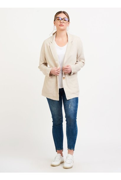 Linen 2 Button Blazer LINEN