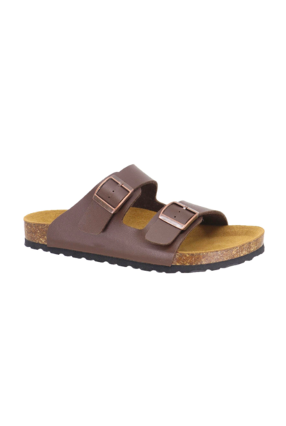 Bailey 2 Buckle Sandal BRN