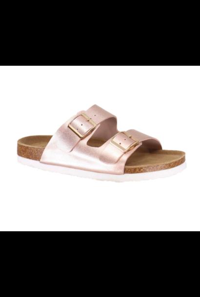 Cheryl 2 Strap Sandal ROSE
