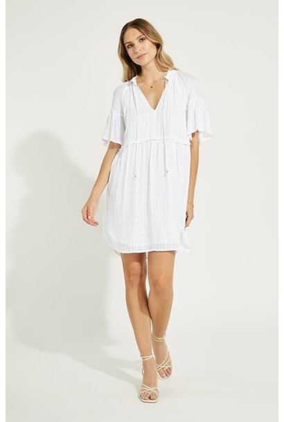 Mavis Dress WHT