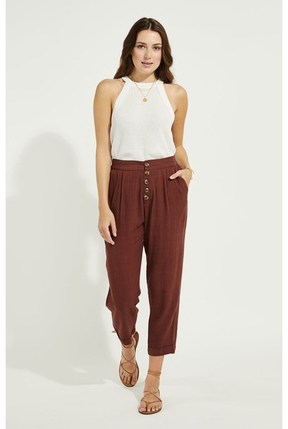 Rally Trouser Pant MAHOG