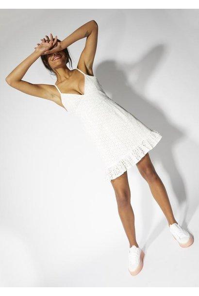 Juliana Anglaise Dress WHT