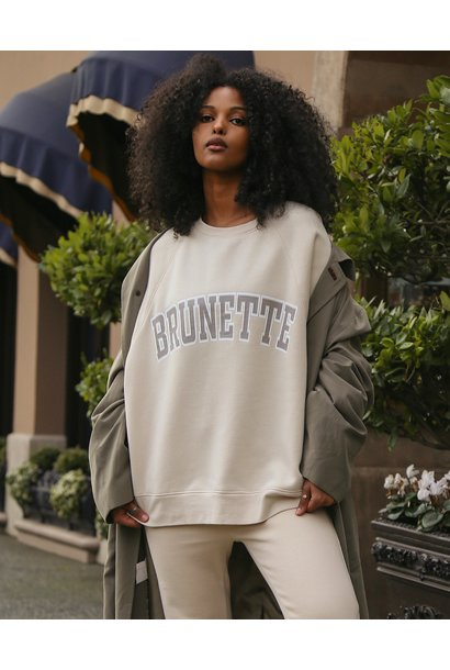 Brunette Not Your Boyfriend Crew FRENCH VAN