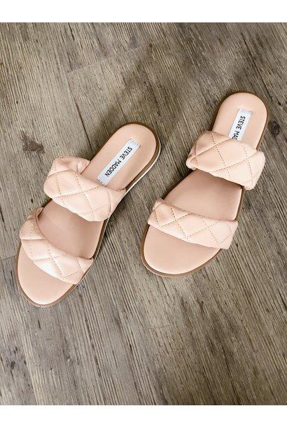 Orsa Quilted Sandal BLSH