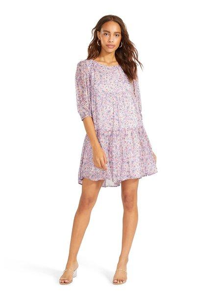 Free Spirit Floral Dress MUL