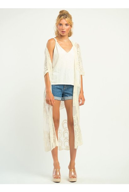 Lace Coverup CRM