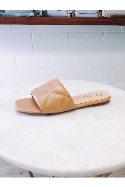 Cleo Quilted Slide
