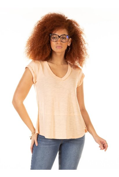 Slub High Low Hem Tee PCH