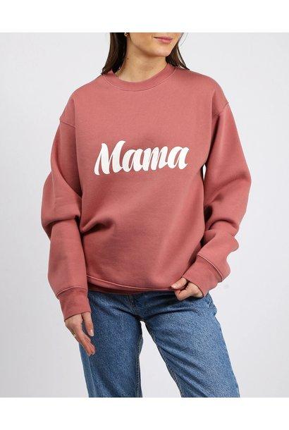 Cursive Mama Crew ROSE