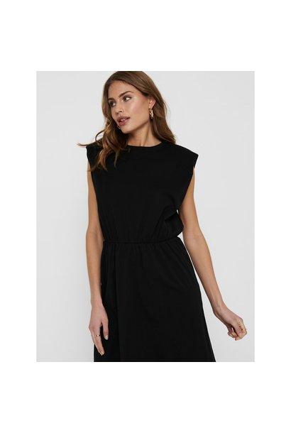 Jen Life Padded Shoulder Dress