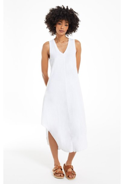 The Reverie Handkershief Dress WHT