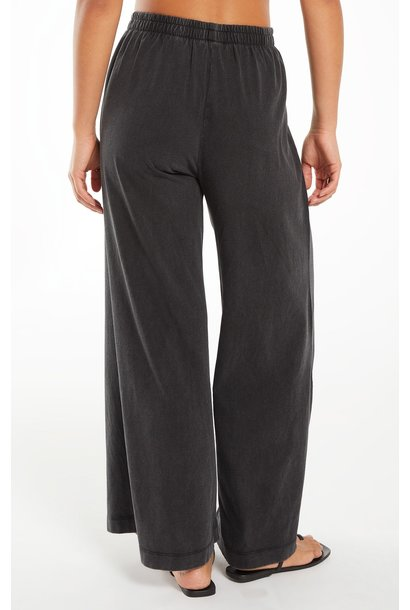 Scout Jersey Flare Pant BLK