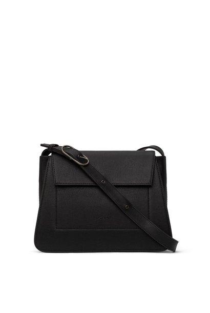 Leia Vintage Shoulder Bag BLK