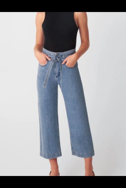 Belted Crop Jean