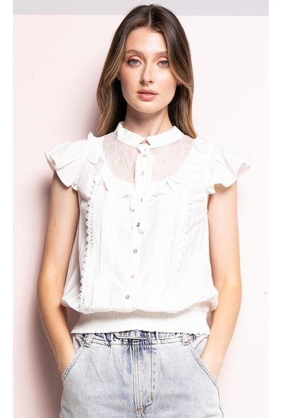 Remy Top WHT
