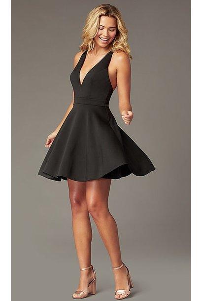 Victoria FitFlare Dress BLK