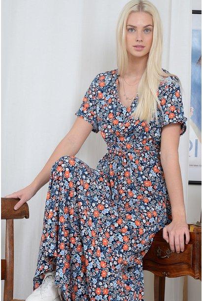 Floral Maxi Dress NVY