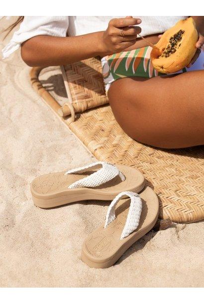 Caillay Braided Sandal CRM