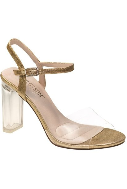 Lucy Strappy Heel GLD