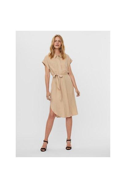 Millie Cap Sleeve Shirt Dress