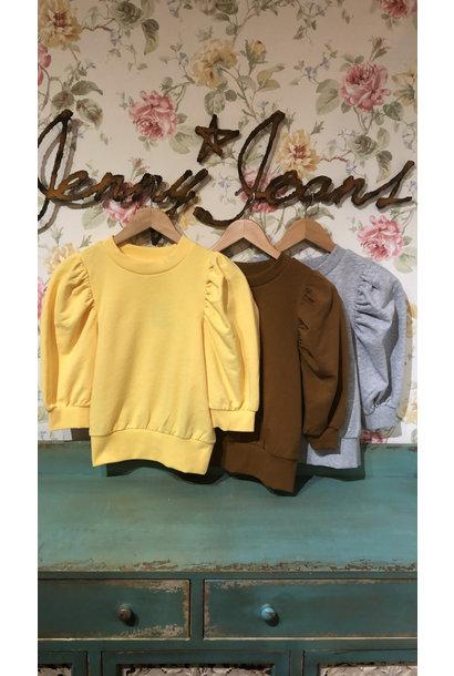 Balou Life 3/4 Puff Sleeve Sweatshirt