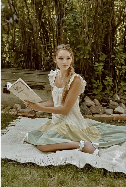 Mia Tiered Dress SAGE