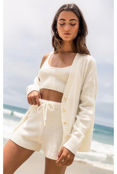 Offline Sweater Short BONE