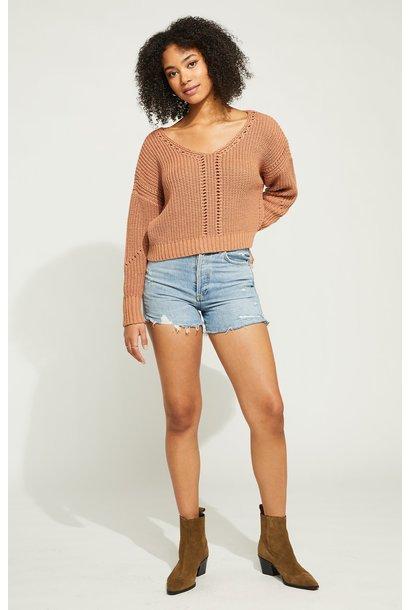 Arizona Knit Sweater CLAY