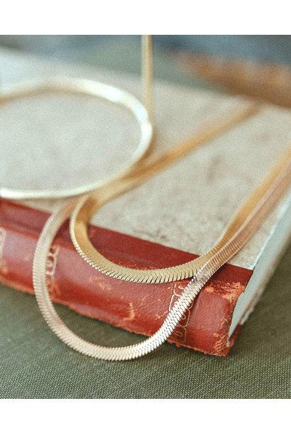 Alessandra Serpentine Necklace
