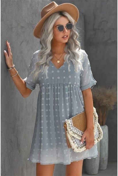 Fever Pitch Mini Dress BLU