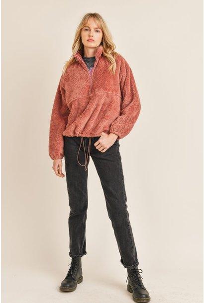 Breeze N Ease Pullover ROSE