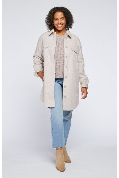 Harmony Shirt Jacket H MINK