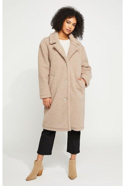 Hoxton Teddy Coat MINK