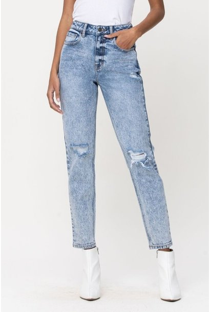Cello Jeans Stacey H/R Slim Straight ACID