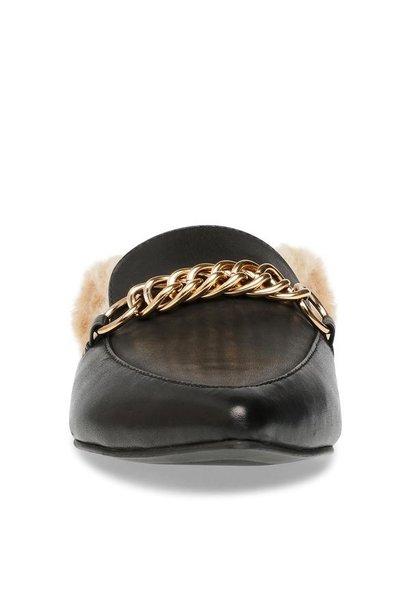 Forseen Fur Line Loafer BLK